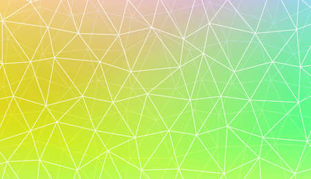 Colorful illustration in abstract polygonal pattern with triangles style with gradient. For your business, presentation, fashion print. Vector illustration. Creative gradient color