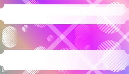 Abstract Background With Gradient Shape, Line, Circle, Space for Text. For Your Design Wallpapers Presentation. Vector Illustration with Color Gradient