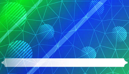 Futuristic Technology Style With Geometric Design, Shapes. Triangles, line, circle. For Business Presentation Wallpaper, Flyer, Cover. Vector Illustration with Color Gradient 矢量图像
