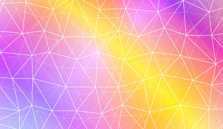 Triangular style. Style for your business design. Vector illustration. Creative gradient color Иллюстрация