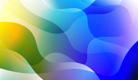 Hologramm-Gradienten-geometrische Wellenform. Abstrakter Hintergrund. Für Vorlagen-Handy-Hintergründe. Vektorillustration Vektorgrafik