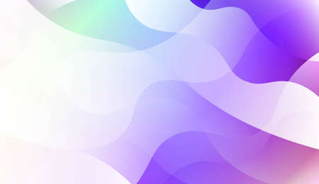 Template Background With Wave Geometric Shape. For Template Cell Phone Backgrounds. Vector Illustration with Color Gradient Illustration