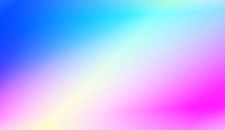Gradient Blurred Abstract Background. For Greeting Card, Flyer, Poster, Brochure, Banner Calendar. Vector Illustration