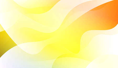 Abstract Wavy Background. For Futuristic Ad, Booklets. Vector Illustration with Color Gradient