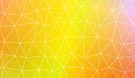 Polygonal pattern with triangles style. For your home interior wallpaper, fashion print. Vector illustration. Blurred Background, Smooth Gradient Texture Color
