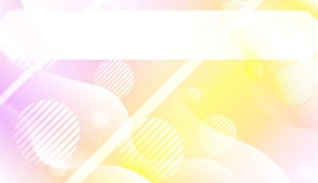 Geometric Pattern With Lines, Wave. For Flyer, Brochure, Booklet And Websites Design Vector Illustration with Color Gradient Illusztráció
