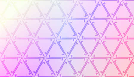 Light Pastel color Gradient Background with Geometric Pattern. For Your Graphic Invitation Card, Poster, Brochure. Vector Illustration