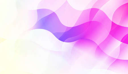 Blurred Decorative Design In Abstract Style With Wave, Curve Lines. Blur Pastel Color Smoke gradient Background. For Your Graphic Wallpaper, Cover Book, Banner. Vector Illustration
