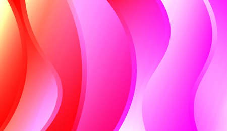 Creative Shiny Waves. For Template Cell Phone Backgrounds. Colorful Vector Illustration.