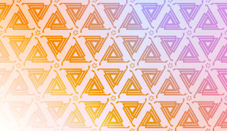 Geometric texture with Vibrant And Smooth Gradient Soft Colors Background. For Greeting Card, Brochure, Banner, Package. Vector Illustration Çizim