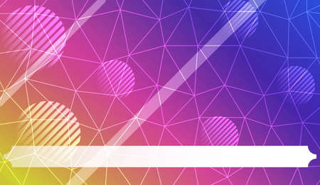 Pattern with abstract line in polygonal pattern with triangles style. For interior wallpaper, smart design, fashion print. Vector illustration. Creative gradient color