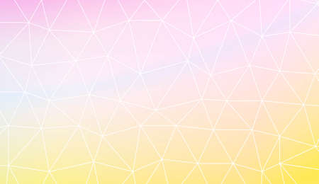 Blurry triangle texture. For wallpaper, presentation background, interior design, fashion print. Vector illustration. Creative gradient color Çizim