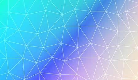 Blurry triangle texture. For wallpaper, presentation background, interior design, fashion print. Vector illustration. Creative gradient color Ilustração Vetorial