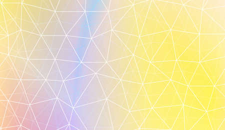 Hipster pattern with polygonal pattern with triangles elements. For modern interior design, fashion print. Vector illustration. Blurred Background, Smooth Gradient Texture Color Иллюстрация