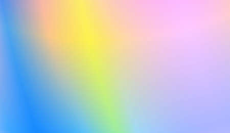 Abstract Blurred Gradient Background With Light. For Greeting Card, Brochure, Banner Calendar. Vector Illustration
