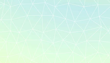 Template background with curved line. Triangles style. For interior wallpaper, smart design, fashion print. Vector illustration. Abstract Gradient Soft Colorful Background Illustration