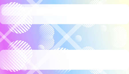 Blurred Gradient Texture Background with Line, Circle. For Ad, Presentation, Card. Vector Illustration Illustration