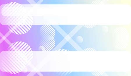 Wazig gradiënt textuur achtergrond met lijn, cirkel. Voor advertentie, presentatie, kaart. vectorillustratie