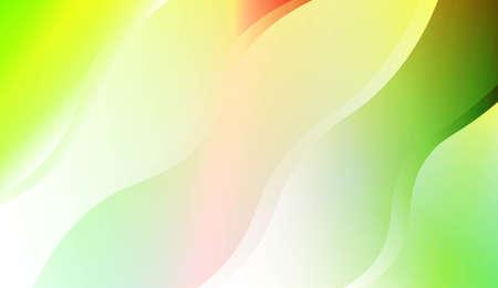 Wavy Background. For Flyer, Brochure, Booklet And Websites Design Vector Illustration with Color Gradient Illustration
