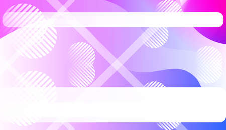 Geometric Design, Shapes. Design For Your Header Page, Ad, Poster, Banner. Vector Illustration with Color Gradient Illustration