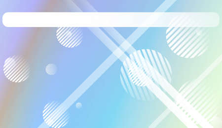 Abstract Shiny Moderns, Lines, Circle, Space for Text. For Cover Page, Landing Page, Banner. Vector Illustration with Color Gradient Stock fotó - 125771592