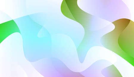 Geometric Design, Shapes. Design For Cover Page, Poster, Banner Of Websites. Vector Illustration with Color Gradient Çizim