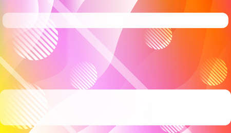Blurred Decorative Design In Abstract Style With Wave, Curve Lines, Circle, Space for Text. Design For Your Header Page, Ad, Poster, Banner. Vector Illustration.