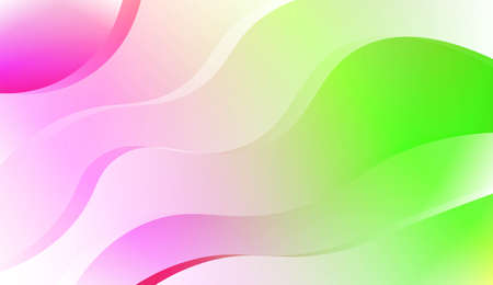 Modern Background With Dynamic Effect. For Your Design Wallpapers Presentation. Vector Illustration with Color Gradient