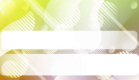 Dynamic shapes composition with Wave Abstract Background. Design For Your Header Page, Ad, Poster, Banner. Vector Illustration. Çizim