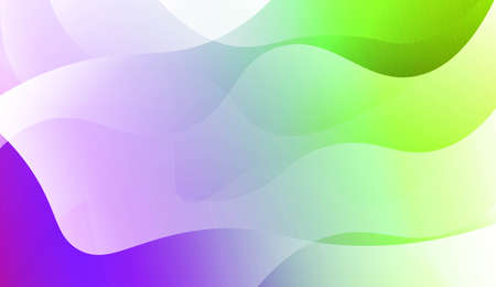 Wave Abstract Background. For Your Design Wallpaper, Presentation, Banner, Flyer, Cover Page, Landing Page. Vector Illustration with Color Gradient