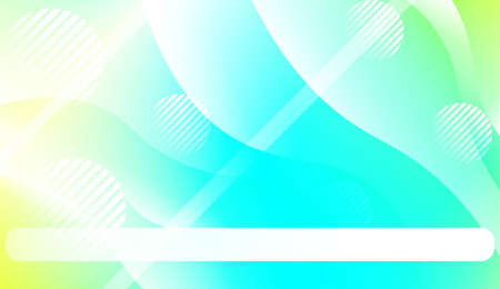Abstract Waves. Futuristic Technology Style Background. Design For Your Header Page, Ad, Poster, Banner. Vector Illustration. Illustration