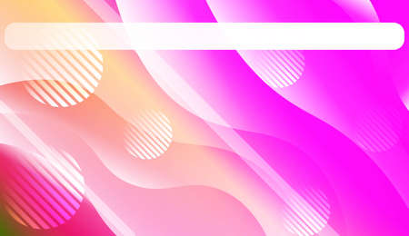 Geometric Pattern With Lines, Wave. Fluid shapes composition. For Business Presentation Wallpaper, Flyer, Cover. Vector Illustration.