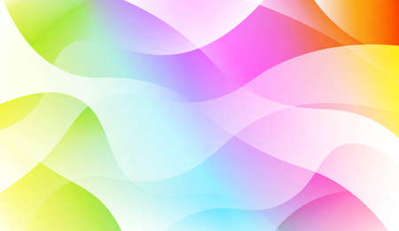 Modern Background With Dynamic Effect. For Your Design Ad, Banner, Cover Page. Vector Illustration with Color Gradient