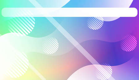 Abstract Waves. Futuristic Technology Style Background. Design For Your Header Page, Ad, Poster, Banner. Vector Illustration. 矢量图像