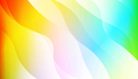 Futuristic Color Design Geometric Wave Shape. For Template Cell Phone Backgrounds. Vector Illustration with Color Gradient