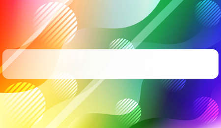 Futuristic Background With Color Gradient Geometric Shape for Your Design Landing Page, Ad, Banner, Cover Page. Vector Illustration with Color Gradient