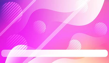 Dynamic shapes composition with Wave Abstract Background. Design For Your Header Page, Ad, Poster, Banner. Vector Illustration. Illustration