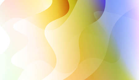Futuristic Color Design Geometric Wave Shape. For Flyer, Brochure, Booklet And Websites Design Vector Illustration with Color Gradient