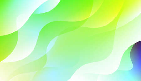 Abstract Background With Dynamic Effect. For Futuristic Ad, Booklets. Vector Illustration with Color Gradient