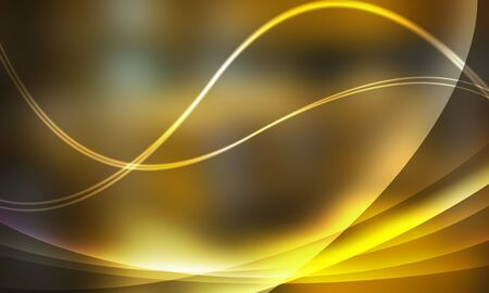 Light and line of light yellow system Stock Photo - 6224638