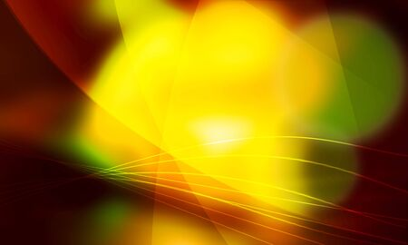 Parabolic, yellow light photo