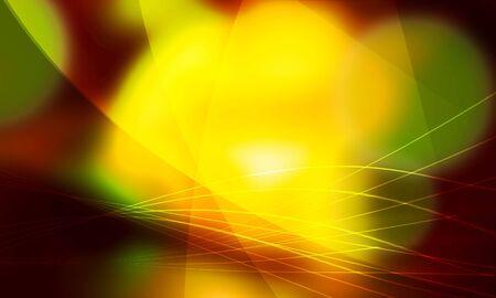 parabola: Intersection of parabola and yellow light Stock Photo