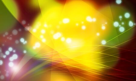 luminescence: Light that overflows in intersecting parabola and shining globe