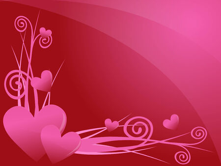 love valentine background Stock Vector - 6848734