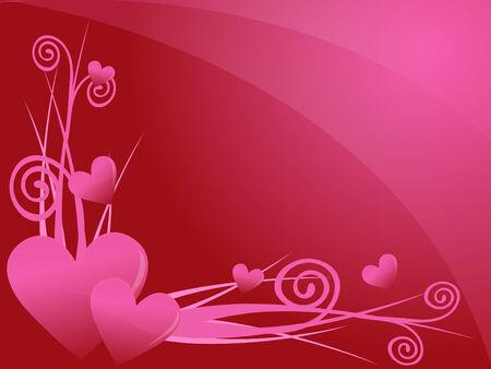 love valentine background Stock Vector - 6848734