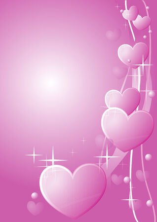 love valentine background Stock Vector - 6848737