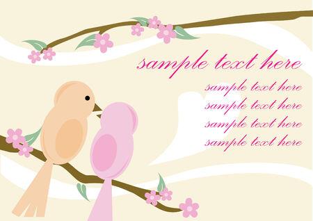 peace and love: Love Birds