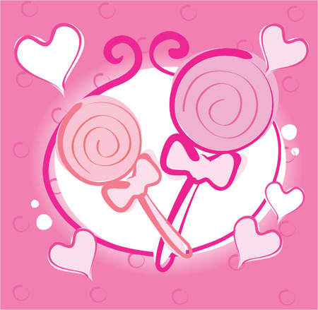 Valentine Sweets  Vector