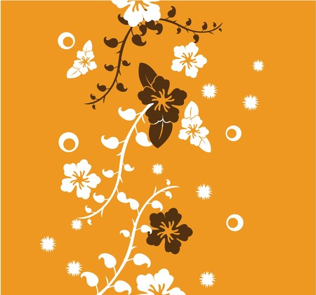 floral pattern for wallpaper, templates and greeting card Stock Photo - 7754836