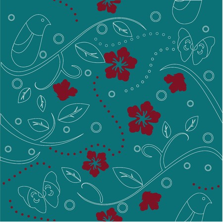 floral pattern for wallpaper, templates and greeting card photo